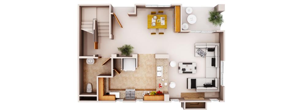 Servizi per il mercato immobiliare planimetrie servizi for Disegni cottage e planimetrie
