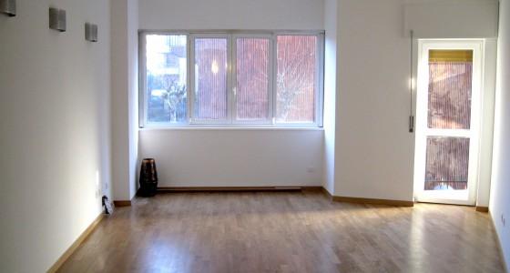 ristrutturazione soggiorno con parquet